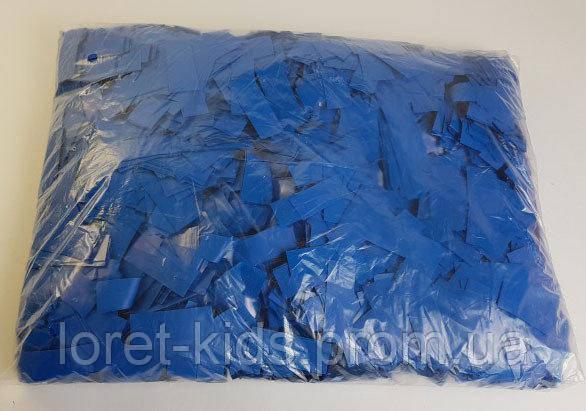 Конфетти метафан синий, 50 грамм