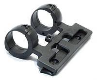 Кронштейн ЭСТ МЦ 20-01 30 мм с планкой на МЦ 20-01, ТОЗ-106, МЦ 20-07, ТОЗ-109 и др