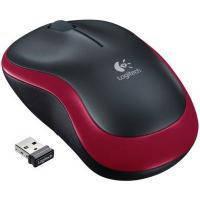 Мышка  Logitech M185 red
