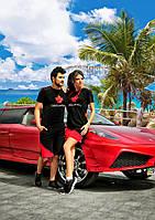 Мужской спорт костюм шорты с футболкой № 827 Dsquared vip