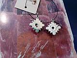 Красивые серьги с камнем лабрадор в серебре. Серьги с лабрадором, фото 5