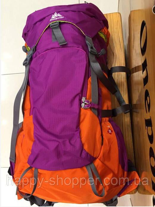Туристический рюкзак 38 л Onepolar 2183 Сетка, Боковые, 2, 50, Поясной ремень, Каркасный, Унисекс, One Polar, Китай, Фиолетовый