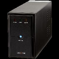 ИБП LPM-U625VA USB порт 2 евророзетки 3 ступ. AVR 7.5Ач12В.Металлический корпус цвет черный.