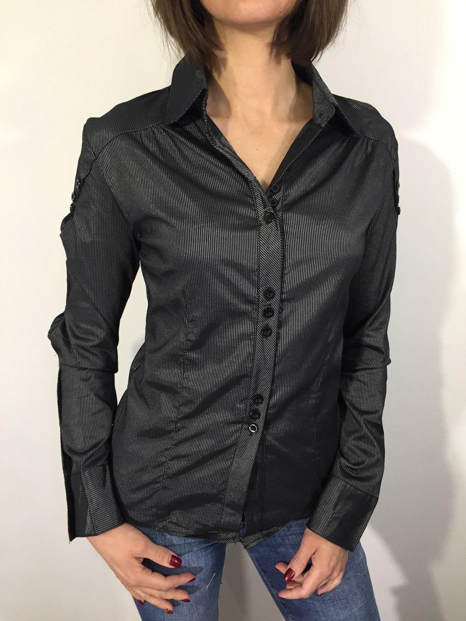 Рубашка женская 0816 серая XXXL