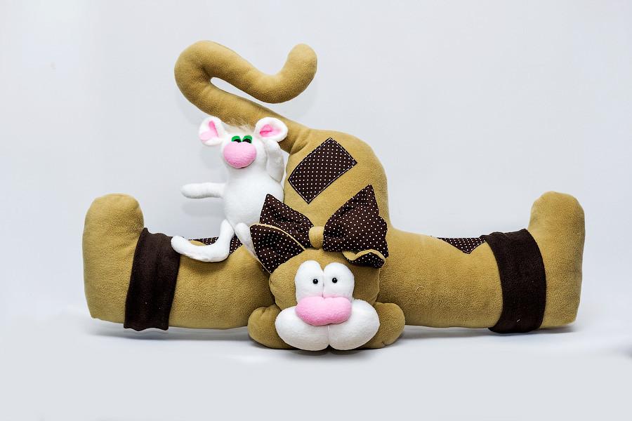 Подушка Кот от сквозняка