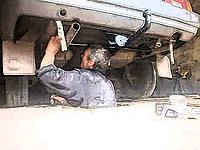 Разработка фаркопу по кузову автомобиля