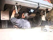 Разработка фаркопа по кузову автомобиля