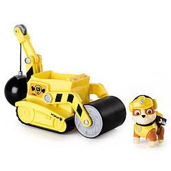 Игровой набор Paw Patrol. Rubble's Steam Roller Construction (Щенячий патруль. Крепыш и каток)