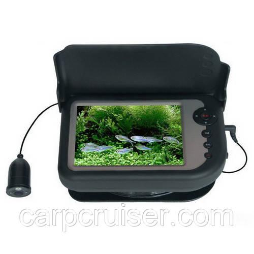 """СС5-PRO-DT-HD видео камера с датчиком температуры и глубины 5"""" цветноймонитор с записью в кейсе, ИК подсветка"""