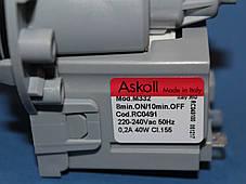 Насос Askoll M332 для стиральной машины универсальный, фото 3