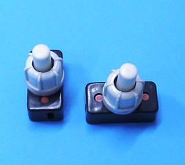 Кнопка 2 А для светильника, бра, торшера