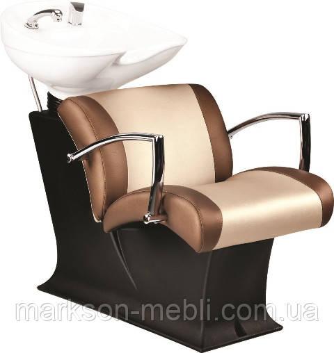 Парикмахерская мойка ЛЕДИ с креслом ЕВЕ