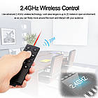 Презентер К2 с лазерной указкой+медиа функции. USBкликер для презентаций, фото 5
