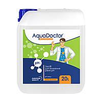 AquaDoctor pH Minus жидкий 20 л (Серная 35%). Жидкое средство для снижения pH, фото 1