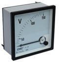 Вольтметр аналоговий CNC YC-V72, V96, 250-500V