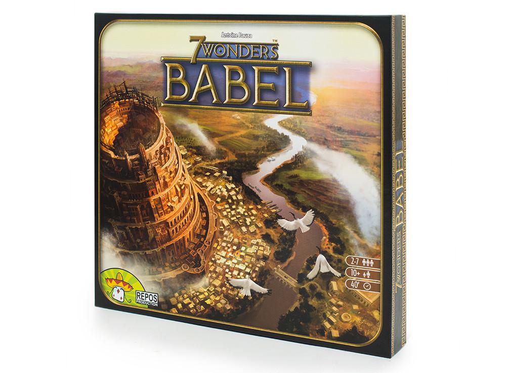 Настольная игра 7 Wonders: Babel