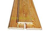 Деревянная вагонка из сибирской лиственницы размер 14х96 /121 мм, длина 3,0, 4,0 м сорт Эк, фото 8