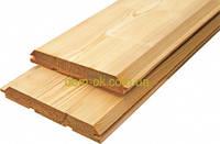 Имитация бруса из сибирской лиственницы размер 146 х 20 мм сорт Эк