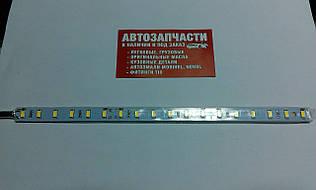Диодная полоса 24 см. с проводом 24V белая