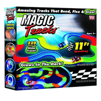 Игрушечная дорога Magic Track, трек на 220 деталей + машинка
