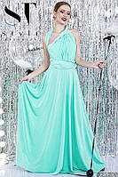 Оригинальное нарядное платье-трансформе