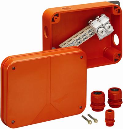 Огнестойкая распределительная коробка Spelsberg WKE 54, Р90; sp86025401