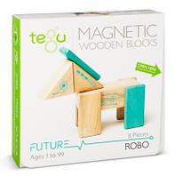 Магнитный конструктор Tegu Робот Robo, 8 эл. (RBO-TL1-405T)