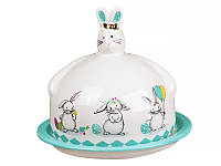 """Блюдо с крышкой """"Кролики"""" диаметр 17 см*14,5 см, Lefard, 940-156"""