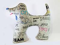 Подушка подголовник Собака -разных пород.
