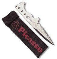 Нож для подводной охоты киев PICASSO TIGRE