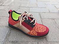 Кроссовки женские красные ДАГО оптом, фото 1
