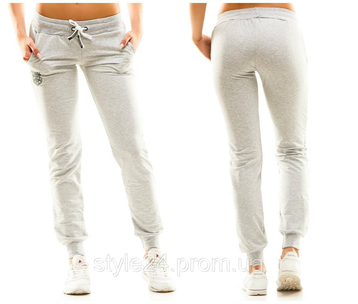 Жіночі спортивні штани з емблемою.Р-ри 44-50 5f8a8fbaeba94