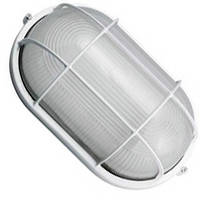 Світильник лазня-сауна НББ 60вт IP54 Е27 Овал з решіткою