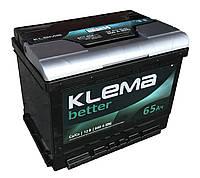 Аккумулятор автомобильный 6СТ-65 KLEMA BETTER