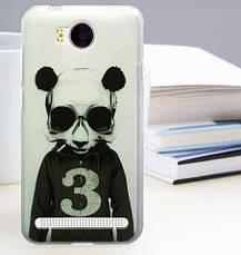 Бампер силиконовый для Huawei Y3ii с картинкой бульдог, фото 2