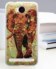Бампер силиконовый для Huawei Y3ii с картинкой бульдог, фото 3