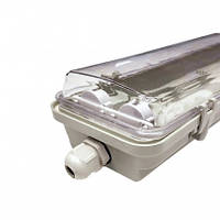 Корпус светодиодного светильника  ЕВРОСВЕТ LED-SH-40 (2*1200мм) slim