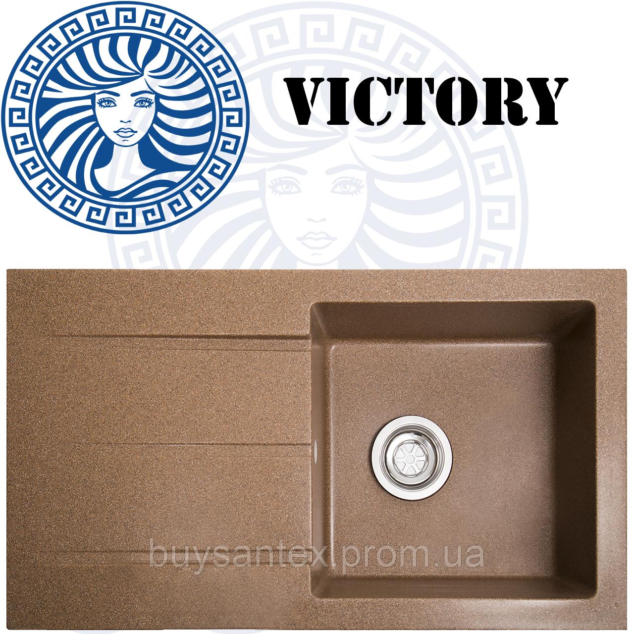 Кухонная мойка Cora - Victory Brown