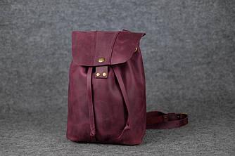 Женский рюкзак на затяжках с кнопкой |11948| Фиолетовый
