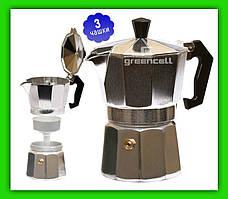Гейзерная кофеварка Frico FRU 171 на 3 чашки