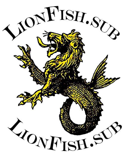 Гермомешок Баул для подводной охоты Lionfish.sub