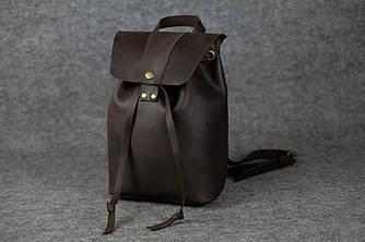 Женский рюкзак на затяжках с кнопкой |11949| Шоколад
