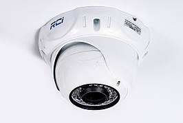 Камера AHD наружная купольная RCI RDW121FHD-VFIR 1080P