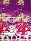 Полуторный комплект постельного белья 145х215 из ранфорса Барби violet (1.0) (50х70), фото 3