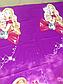Полуторный комплект постельного белья 145х215 из ранфорса Барби violet (1.0) (50х70), фото 5