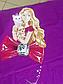 Полуторный комплект постельного белья 145х215 из ранфорса Барби violet (1.0) (50х70), фото 6