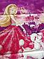 Полуторный комплект постельного белья 145х215 из ранфорса Барби violet (1.0) (50х70), фото 7