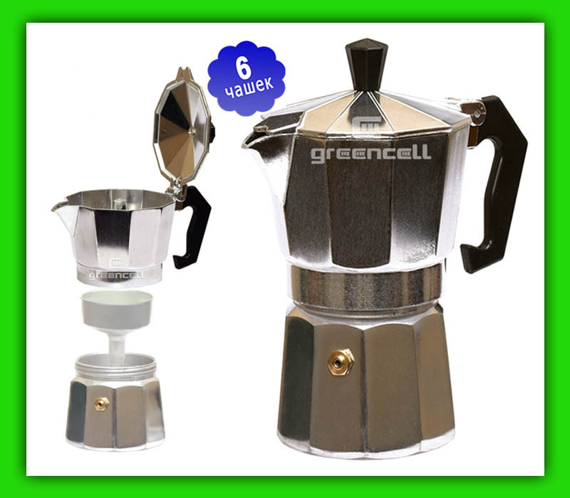 Гейзерная кофеварка Frico FRU 172 на 6 чашек