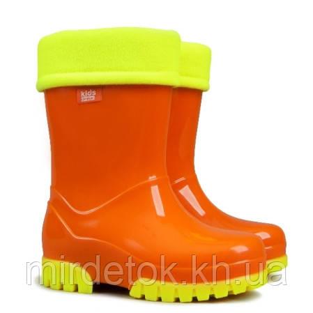 Резиновые сапоги DEMAR TWISTER FLUO c (Оранжевые)