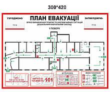 План евакуації формату А-3